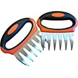 DflowerK Meat Claws Stainless Steel Pulled Pork Shredder Claws BBQ Meat Forks, Perfect for Shredding Handing Carving Chicken