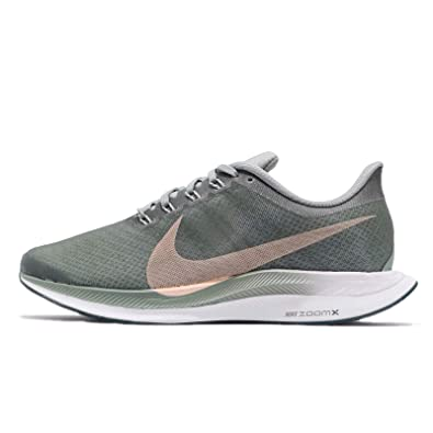 NIKE Womens WMNS Zoom Pegasus 35 Turbo, MICA GERRN/Light Silver, ...