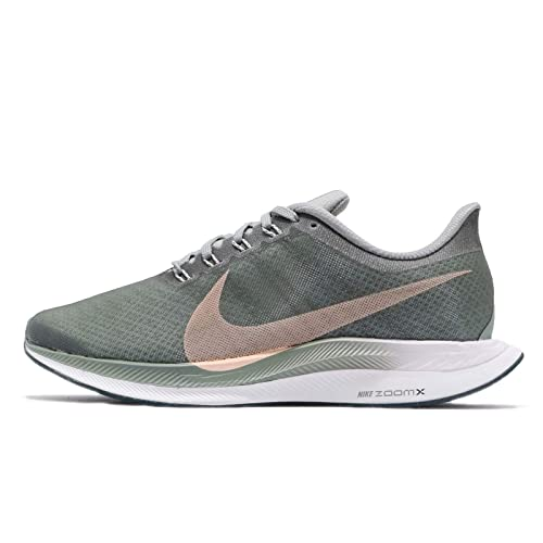 Nike W Zoom Pegasus 35 Turbo, Zapatillas para Mujer, (Mica Green/Light Silver/Crimson Tint 001), 40 EU: Amazon.es: Zapatos y complementos