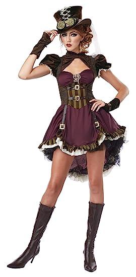 California Costumes Steampunk Girl Adult Costume XS: Amazon.es ...