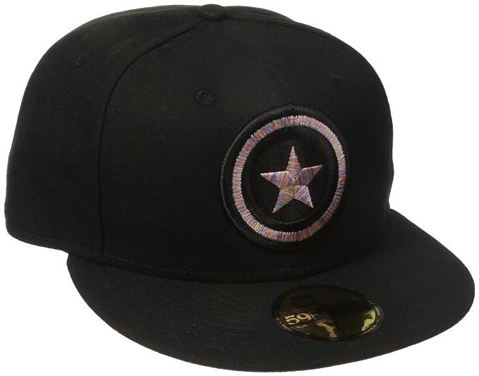 Amazon.com: Marvel Mens Logo Craze Fitted Captain America 59fifty Cap: Clothing