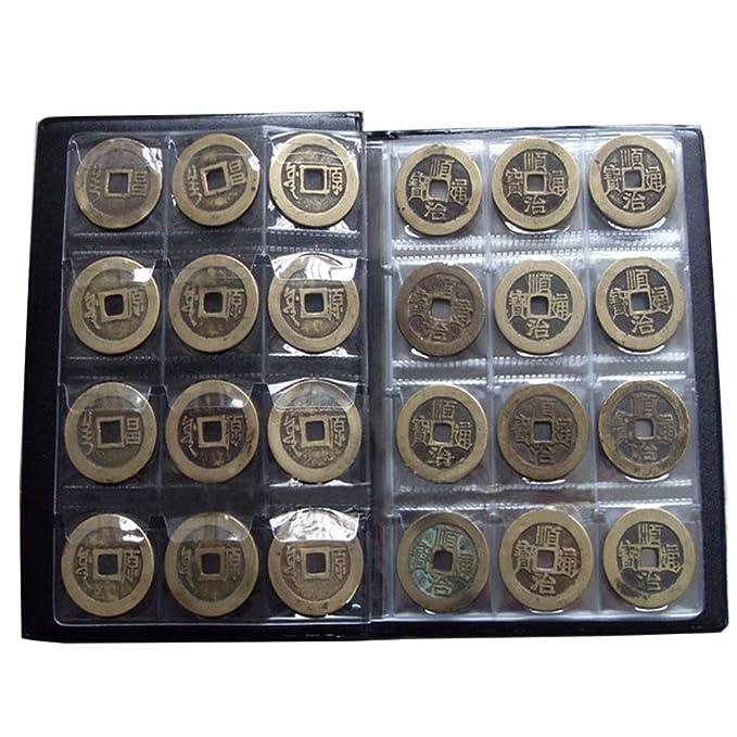 Amazon.com: funbase álbum de 120 Bolsillos Soporte de Coin ...