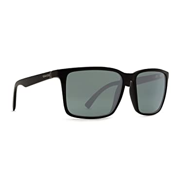 1ca8170ab27 Von Zipper Lesmore Black Smoke Satin Wildlife Vintage Grey Polar Lens  Sunglasses