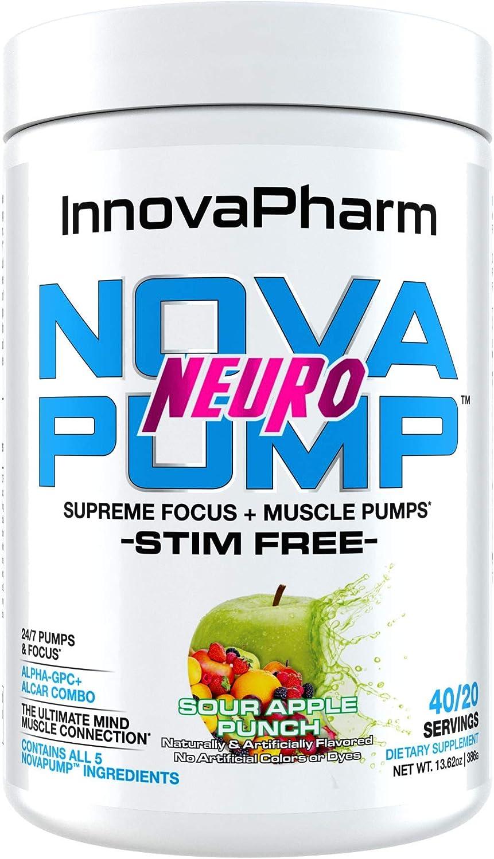NOVAPUMP Neuro (Sour Apple Punch)