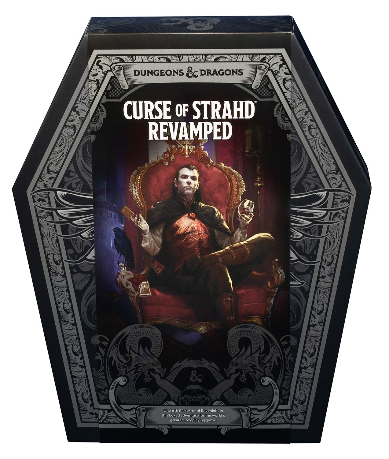 Curse of Strahd: Revamped Premium Edition (D&D Boxed Set) (Dungeons &  Dragons): Wizards RPG Team: 9780786967155: Amazon.com: Books