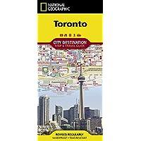 National Geographic Destination City Map 2018 Toronto