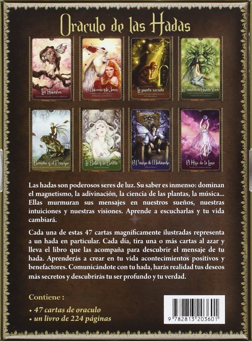 ORACULO DE LAS HADAS: 9782813203601: Amazon.com: Books