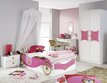 Rauch Kinderzimmer Mädchenzimmer Kate 10-tlg. Komplett Set in Weiss ...