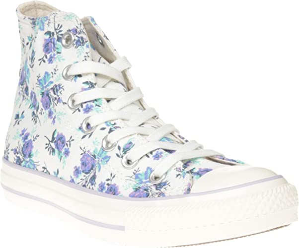Converse Chuck Taylor All Star Floral Hi, Baskets mode femme