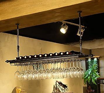 Amazoncom Ceiling Wine Racks Adjustable Height Wall Mounted