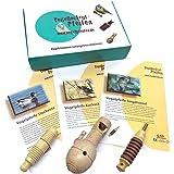 GICO Vogelpfeifen Set No.1 mit 3 Vogelstimmen (Stockente Kuckuck, Singdrossel) V001 - die außergewöhnliche Geschenkidee