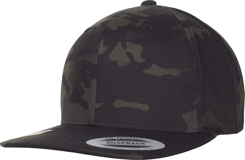 Flexfit Classic Snapback Multicam Cap, Black, one Size 6089MC