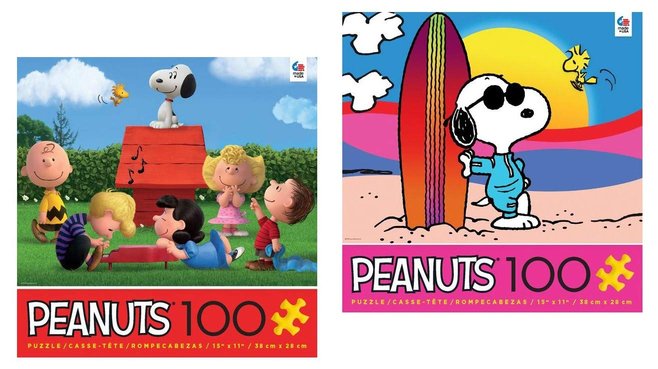 超爆安  Peanuts 100ピースパズルセット:- Malibu Beethoven Snoopy Brown, with Woodstock and Schroeder Plays B07GVPQXKQ Beethoven with Charlie Brown, Lucy, Snoopy and Woodstock B07GVPQXKQ, Sports Shoes SelectSHOP Booshop:eef85fc4 --- a0267596.xsph.ru