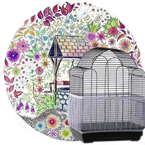 Sedensy Protector de Semillas para pájaros, Jaula para pájaros ...