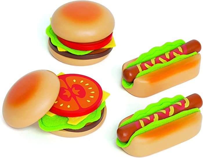 Top 10 Play Food Hamburger Hotdog