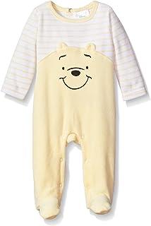 Disney Baby Boys Winnie the Pooh Velour Footie Sleeper