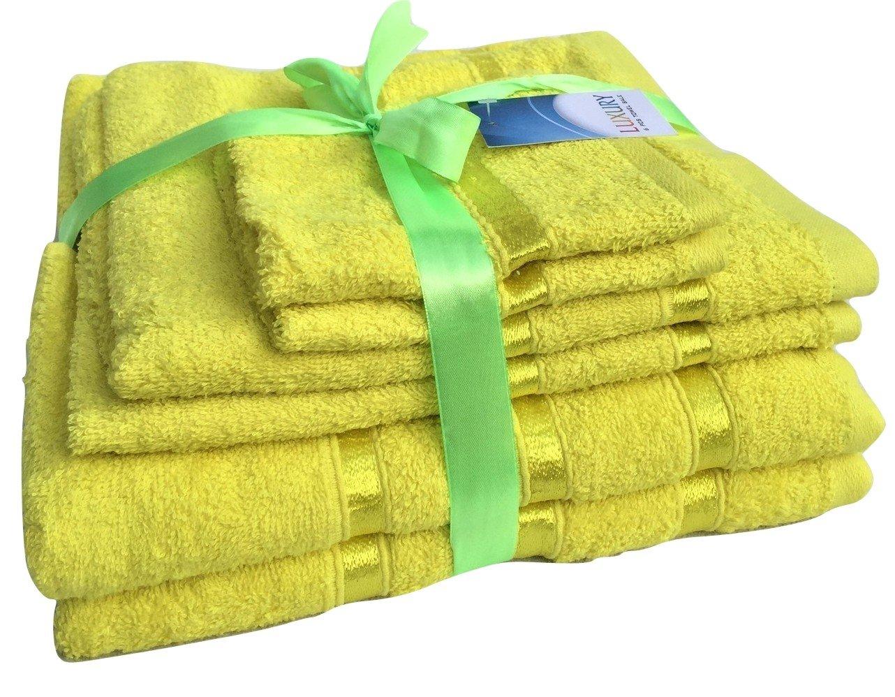 Juego de toallas glamaxx Supreme 100% algodón, 500g/m², 4o 3unidades, toalla de baño, toalla para la cara, toalla de mano, Lilac, Juego de 3 piezas 500g/m² 4o 3unidades toalla de baño LILC-3BLE
