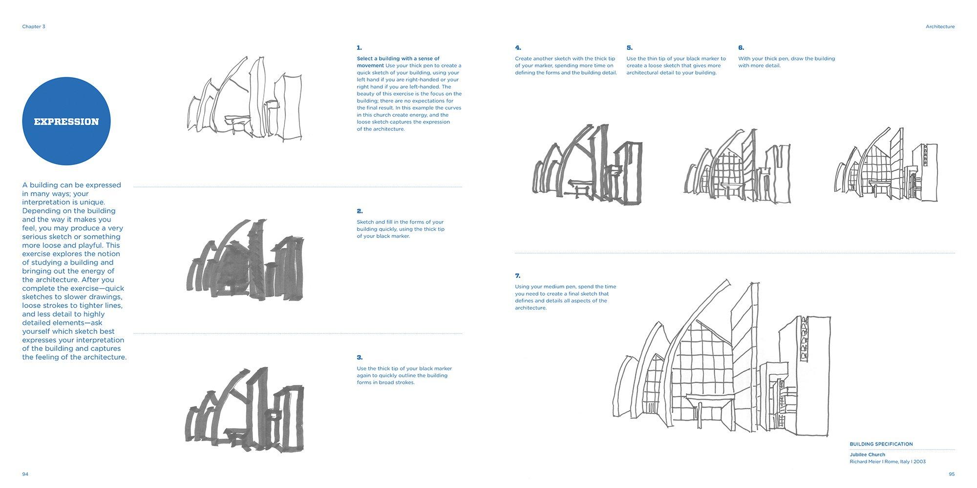 sketching for architecture interior design stephanie travis