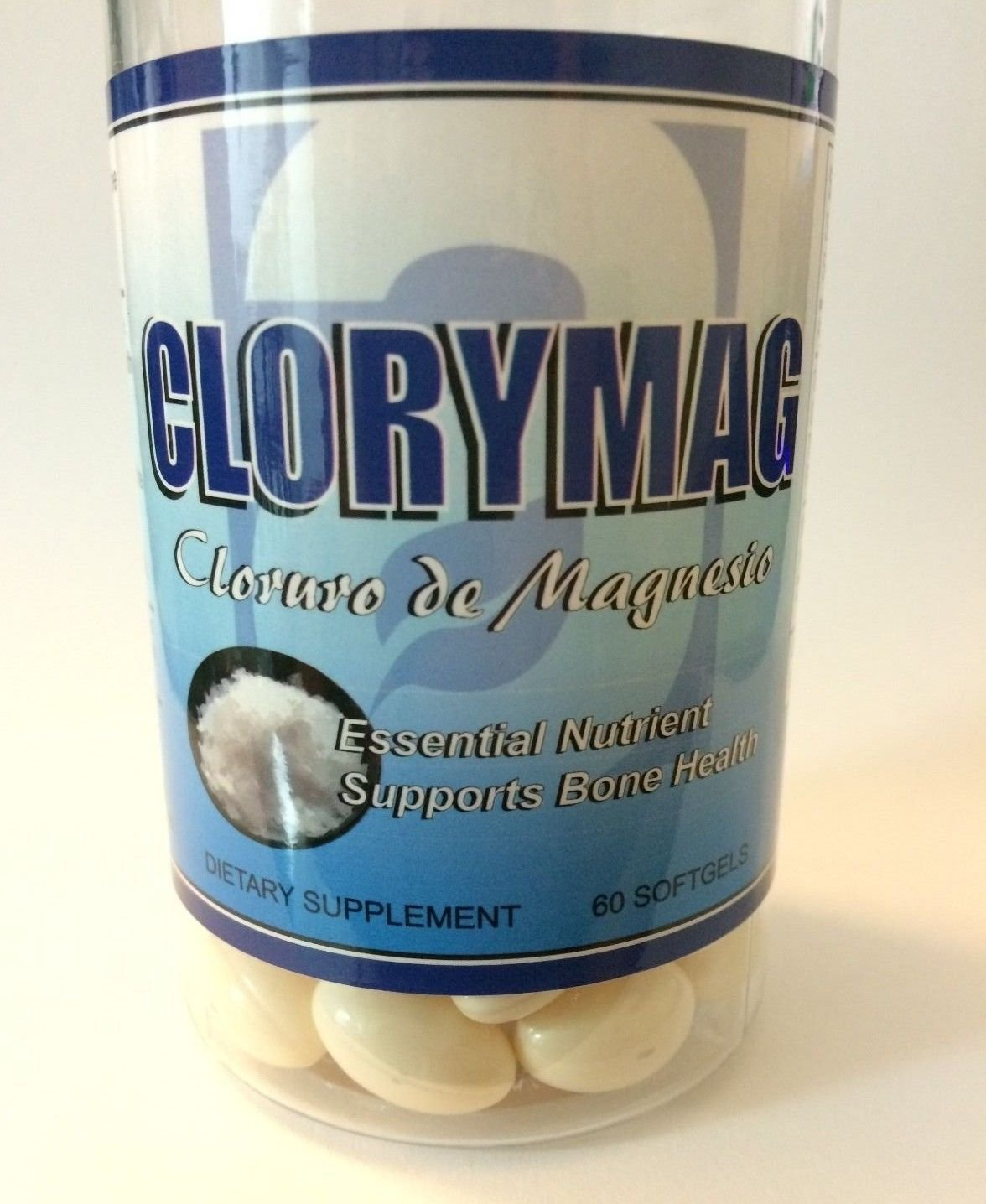Amazon.com: Clorimag Cloruro de Magnesio (520 mg) Support Bone Health Salud Huesos Magnesium: Health & Personal Care