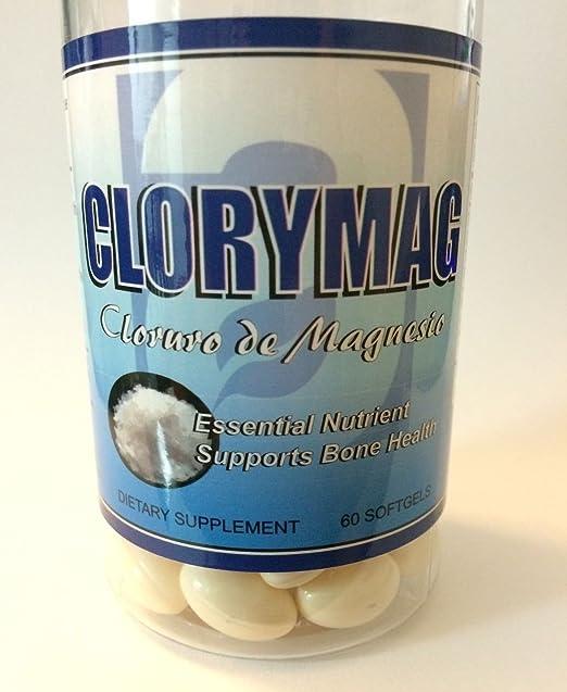 Amazon.com: Clorimag Cloruro de Magnesio (520 mg) Support Bone Health Salud Huesos Magnesium: Health & Personal Care