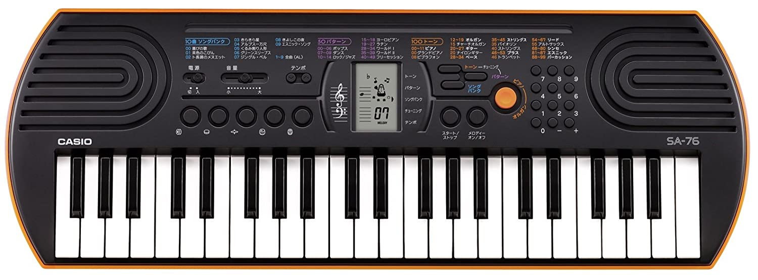 Casio SA76 44 Keys 100 Tones Keyboard