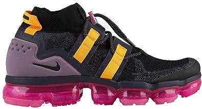a3db063f51f0e Nike Men s Air Flyknit FK Utility Black Gridiron Pink Blast Black AH6834-