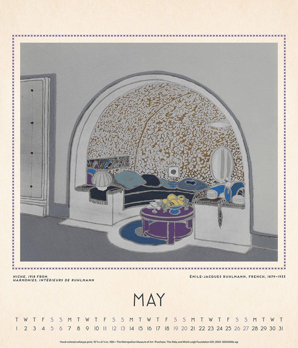 Art Deco Design 2018 Calendar: The Metropolitan Museum of Art:  9781419725210: Amazon.com: Books