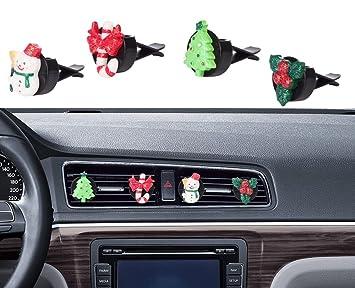 car christmas decorations mini factory auto glitter interior decor air vent accessories decorative bling