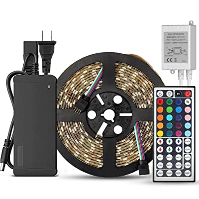SUPERNIGHT 5-Meter Waterproof Flexible Color Changing RGB SMD5050