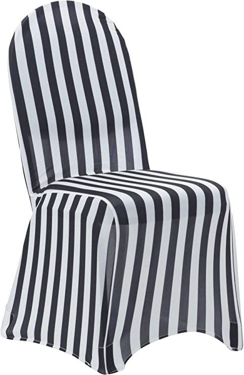 6 Pack Stretch Spandex Folding Chair Covers White,For Standard Folding Chairs