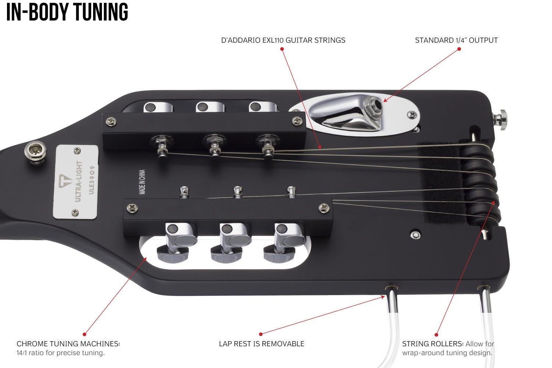 ULE TRDG Traveler Guitar Ultra-Light Solid-Body Electric Guitar