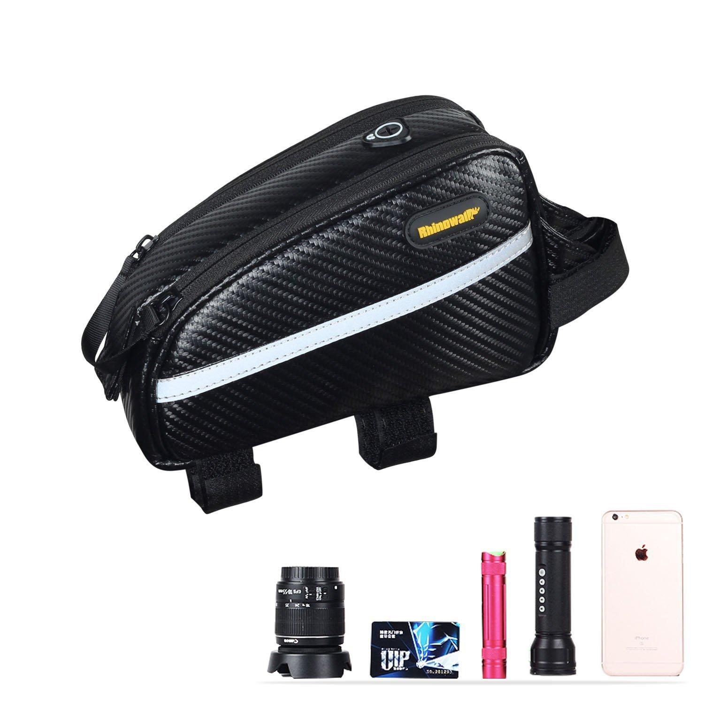 Rhinowalk Bike Bag Bike Top Tube Bag Bike Frame Bag Waterproof and Stable Bicycle Frame Bag Bicycle Bag Professional Cycling Accessories