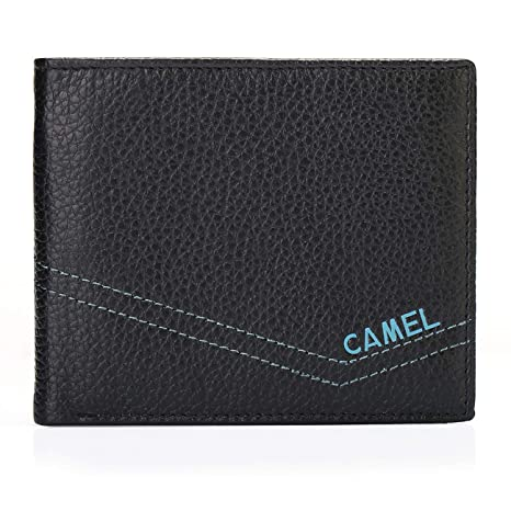 Mens Leather Wallet Credit Card,Money Wallets for Men Retro Minimalist Wallet Gift Boxed