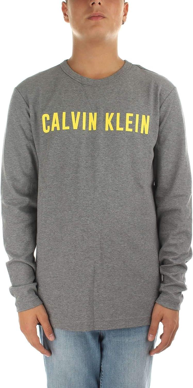 Calvin Klein 00GMF8K209077 Camiseta Hombre Gris L: Amazon.es: Ropa y accesorios