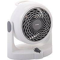 Iris Ohyama 530372 Stille desktopventilator - Woozoo - HD15N, Plastic, Wit, 34 W, 13 m², 24,1 x 17,5 x 26,6 cm