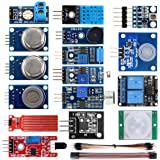 KOOKYE 16 in 1 Smart Home Sensor Modules Kit for Arduino Raspberry Pi DIY Professional (Smart Home Kit)