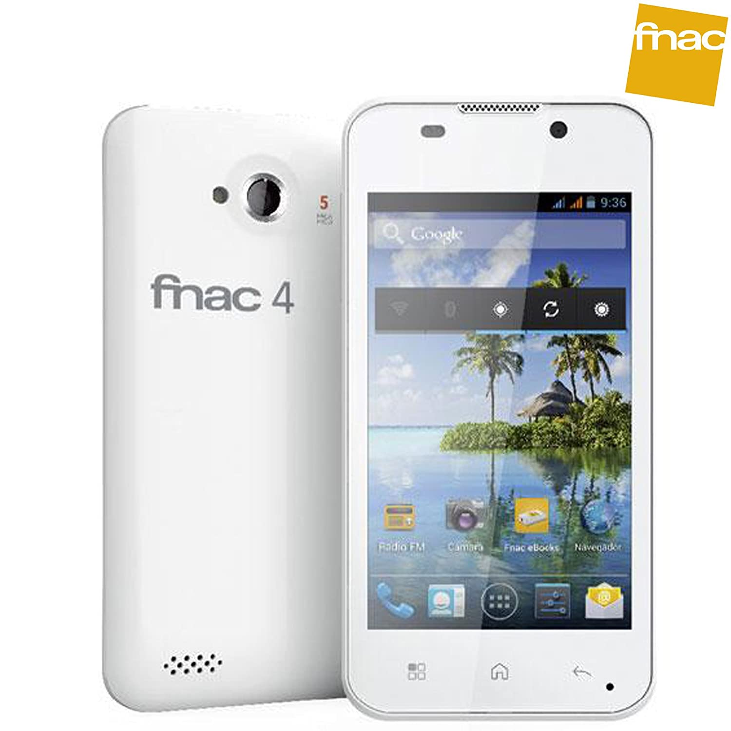 Movil BQ Aquaris 4 Fnac 4 4 GB Dual SIM Blanco Usado | B: Amazon ...