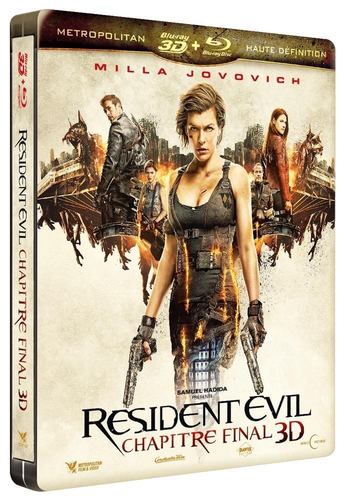 Resident Evil : Chapitre final [Francia] [Blu-ray]: Amazon.es: Milla Jovovich, Ali Larter, Iain Glen, Shawn Roberts, Eoin Macken, Fraser James, Ruby Rose, William Levy, Paul W.S. Anderson, Milla Jovovich, Ali Larter: Cine