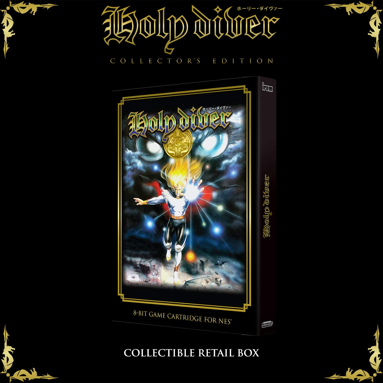 Retro-Bit Holy Diver - Collectors Edition Black NES ...