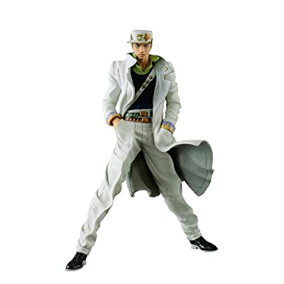 Banpresto Jojo's Bizarre Adventure Diamond is Unbreakable Jojo's Figure Gallery 7 x Diamond Records Jotaro Kujo Action Figure: Toys & Games