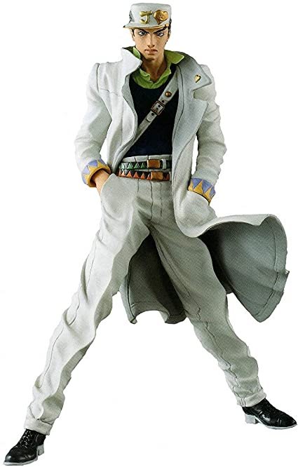 Amazon Com Banpresto Jojo S Bizarre Adventure Diamond Is Unbreakable Jojo S Figure Gallery 7 X Diamond Records Jotaro Kujo Action Figure Toys Games
