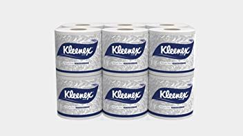 Kimberly-Clark Kleenex Bathroom Tissue, 60047, 2 Ply, 160 Pulls Per Roll