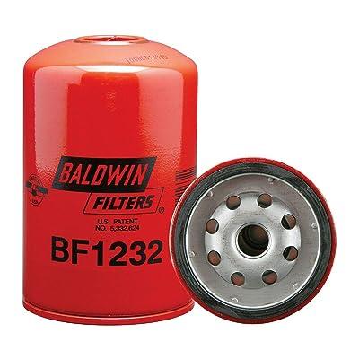 Baldwin BF1232 Heavy Duty Diesel Fuel Spin-On Filter: Automotive