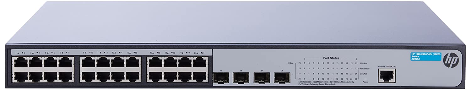 HP JG925A 1920-24G-PoE+ (180W) Switch