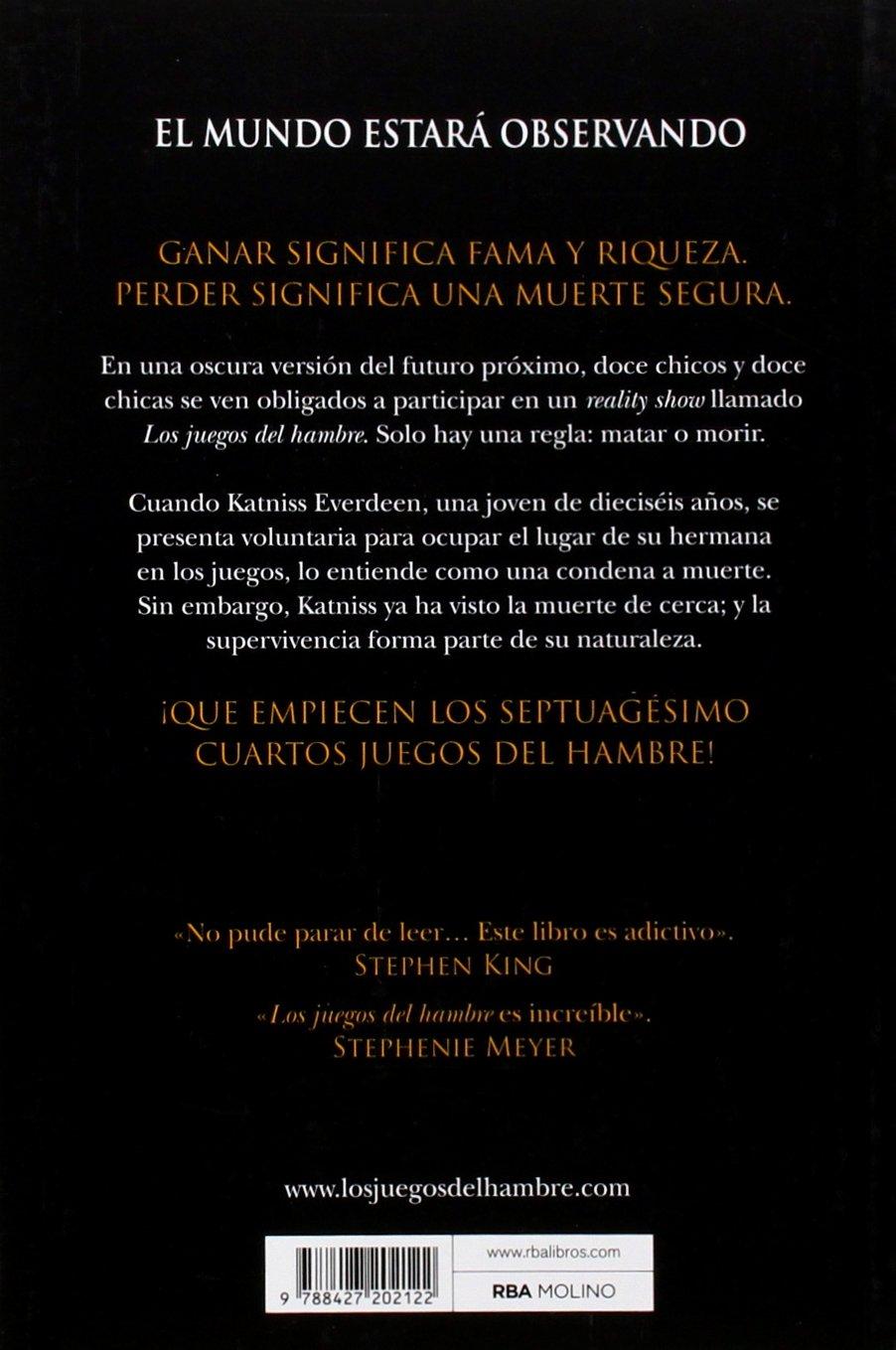Los Juegos Del Hambre Amazon Es Suzanne Collins Pilar Ramirez