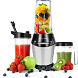 Cosori 10-Piece High-Speed Blender/Mixer System with 800-Watt Base, 2 X 32oz Cups, One 24oz Cup and Bonus Clean Brush, Great Personal Blender for Shakes and Smoothies, Juices, Fruits & Vegetables