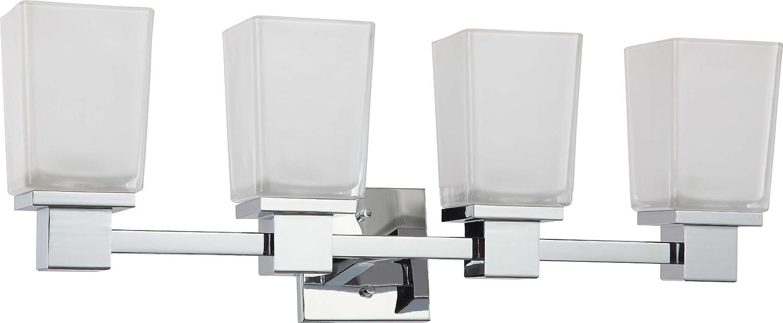 Nuvo Lighting 60//4005 Four Light Chandelier 4Lt Polished Chrome