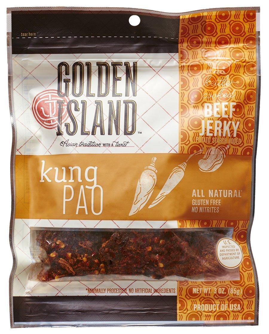 Golden Island Kung Pao Beef Jerky, 3 oz.
