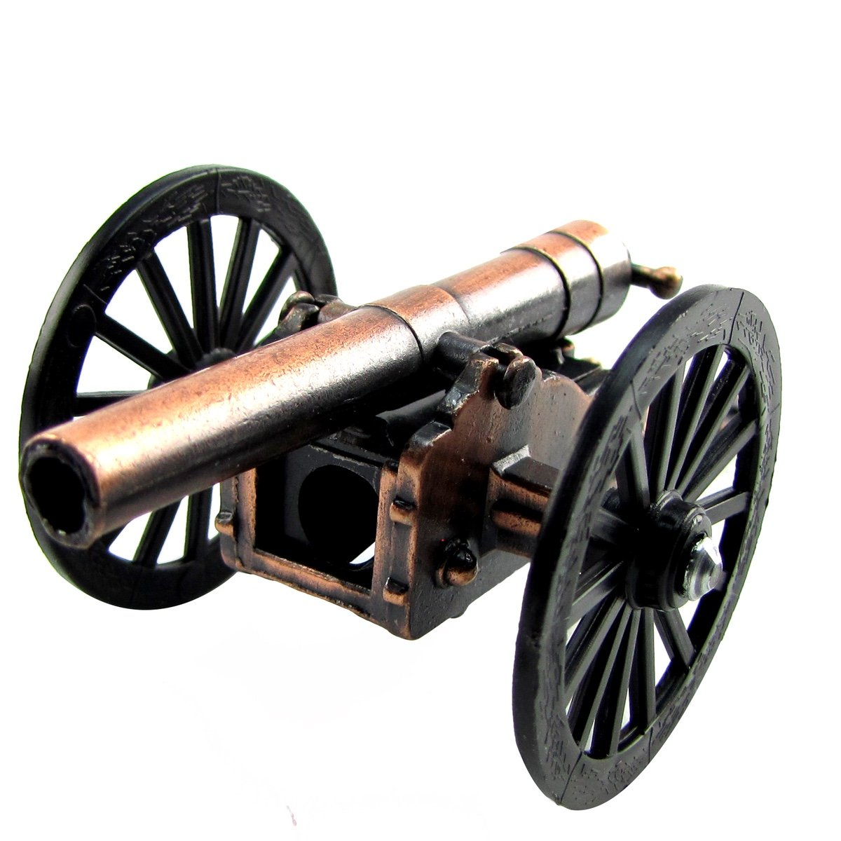 Civil War Cannon Die Cast Miniature Replica Pencil Sharpener Diecast Collectible TreasureGurus LLC