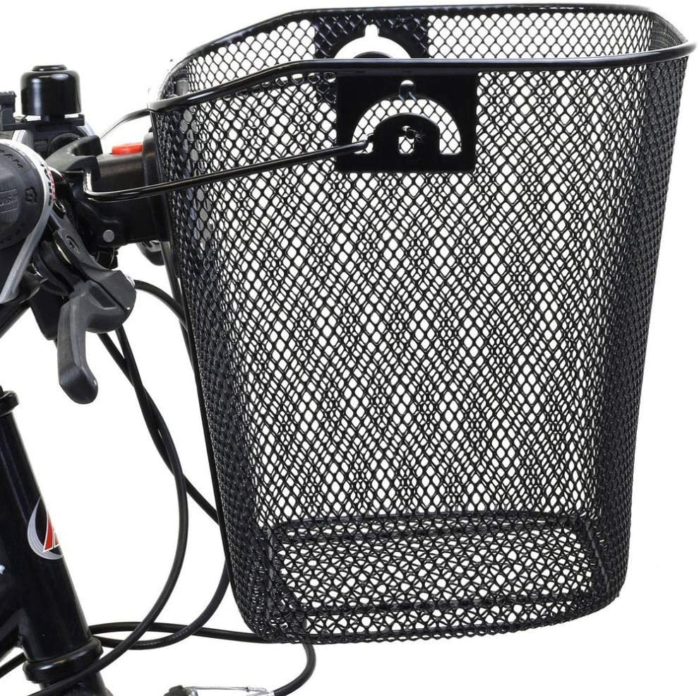 Foldable Disassembled Iron Material Durable and Suitable for Active Shopping Travel Bicycle Basket Bicycle Accessories